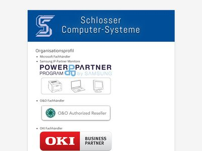Schlosser Datenverarbeitung
