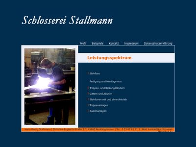 Hans Georg Stallmann Bauschlosserei e.K.
