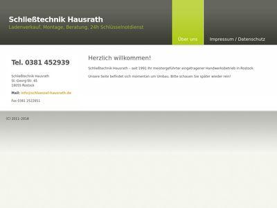 Schliesstechnik D. Hausrath