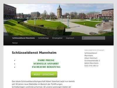 Schlüsseldienst Mannheim Steinhart