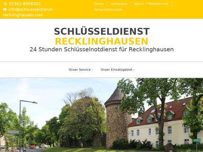W & F Schlüsseldienst Recklinghausen