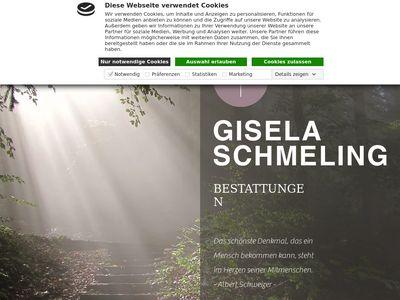 Bestattungen Gisela Schmeling