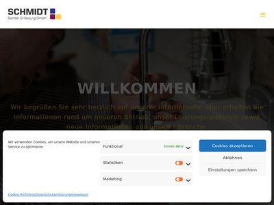 Schmidt - Sanitär und Heizung GmbH