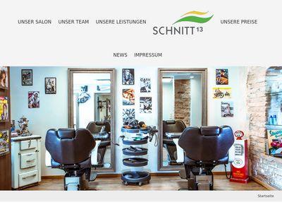 Schnitt 13 Friseur