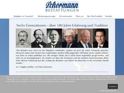 Conrad Schormann Bestattungen
