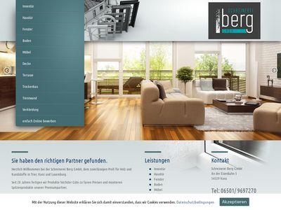 Fenster- u. Elementebau Schreinerei Berg GmbH