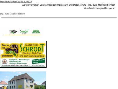 Manfred Schrodt