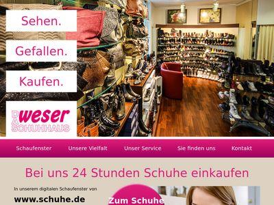 Schuhhaus Weser Schuheinzelhandel