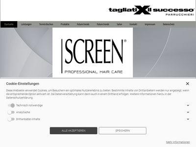 Screen Haircare Salon Mannheim