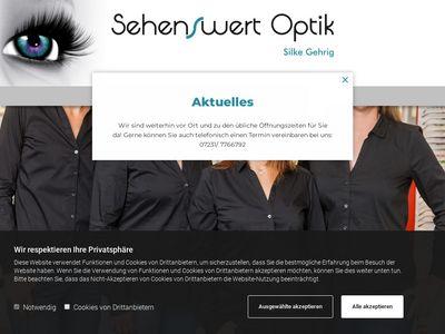 Sehenswert Optik -Silke Gehrig