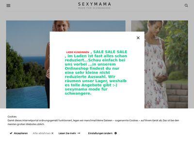 Sexymama Mode Für Schwangere