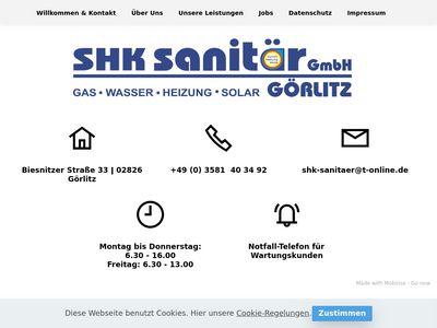 SHK-Sanitär in Görlitz GmbH