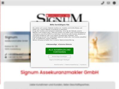 Signum Assekuranz Makler GmbH