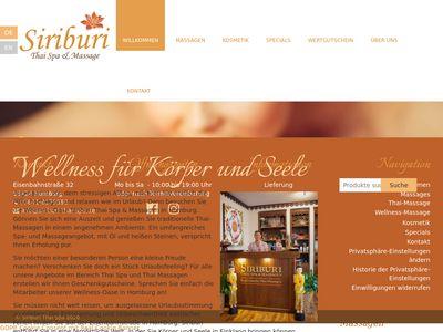 Siriburi Thai Spa & Massagen
