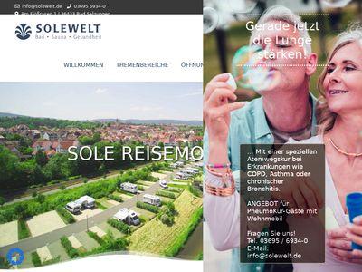 SOLE Reisemobilhafen Bad Salzungen Eisenach