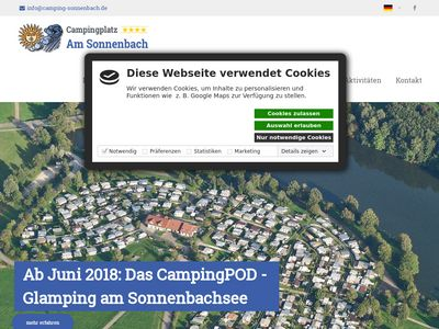 Campingplatz am Sonnenbach