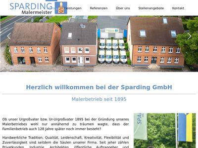 Sparding GmbH - Malerbetrieb seit 1895