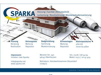 Uwe Sparka, Heizung-Sanitär Klimatechnik