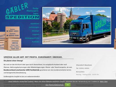 Umzüge Spedition Gäbler GmbH