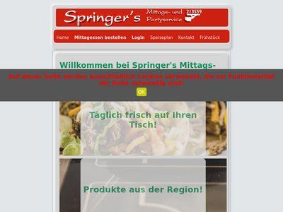 Springers Mittags- und Partyservice