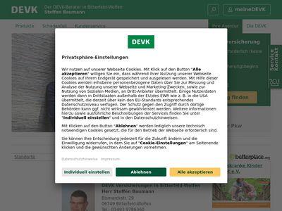 DEVK Versicherung: Steffen Baumann