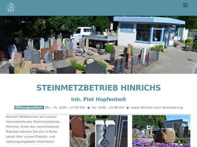 Steinmetzbetrieb Hinrichs - Inh. Piet Hopfenheit