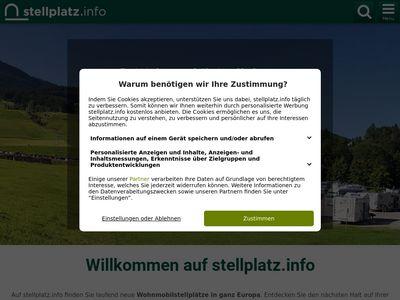 Ostsee Wohnmobil Stellplatz Zingst