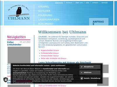 Stempel, Schilder & Gravuren Ralf Uhlmann