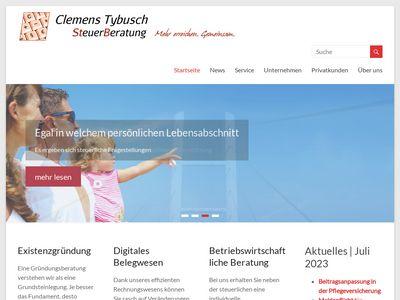 Dipl.-Kfm. Clemens Tybusch Steuerberater