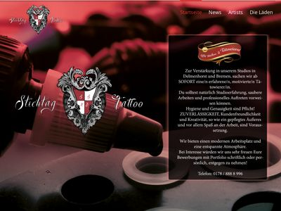 Stichtag Tattoo (Tattooshop Delmenhor