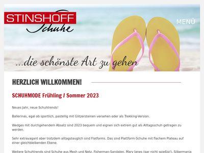 Stinshoff Schuhe GmbH Schuheinzelhandel