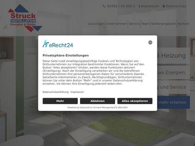 Struck Heizung- und Sanitärbe- bedarf GmbH