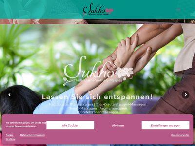SUKHO - Thailändische Wellness Massage
