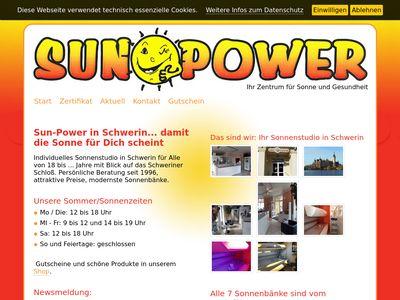 Sonnenstudio-Sunpower