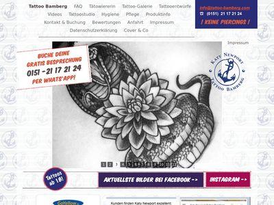 Katy Newport Tattoo Bamberg