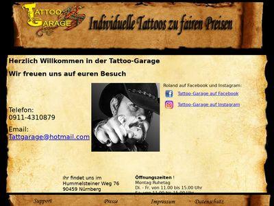 Tattoo Garage Nürnberg