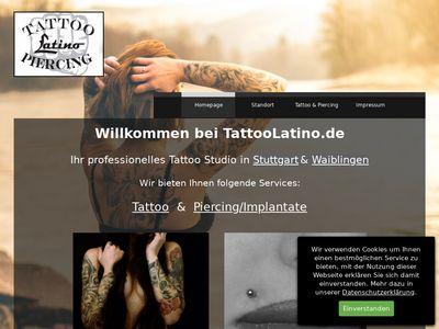 Tattoo & Piercing Latino Stuttgart
