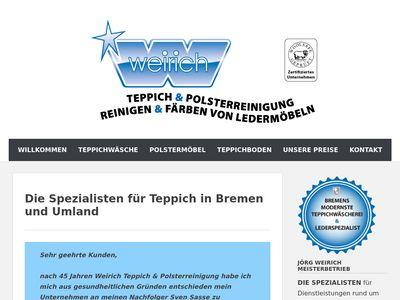 Weirich Teppich- und Lederreinigung Bremen