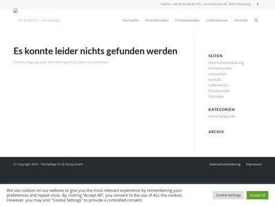Textilpflege Fix & Fertig GmbH