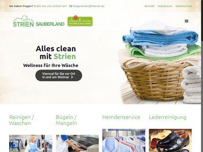 Sauberland Textilpflege Holger Strien
