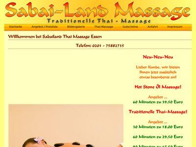 Sabai Traditionelle Thaimassage