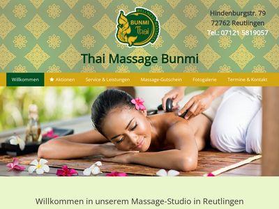 Bunmi Thai Wellness - Massagen