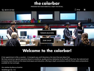 The colorbar