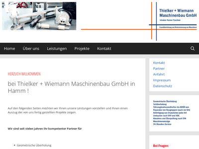 Thielker und Wiemann Maschinenbau GmbH