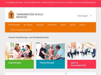 Timmermeister Praxis für Physiotherapie