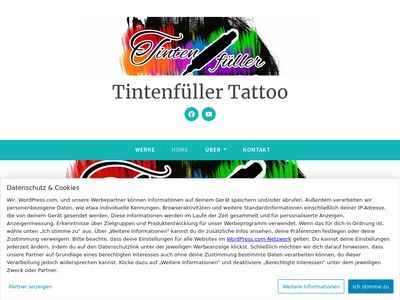 Tintenfüller Tattoo