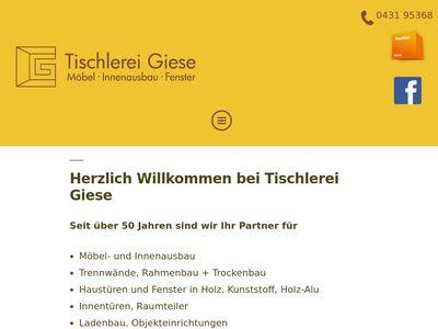 Rainer Giese-Hartmann Tischlerei
