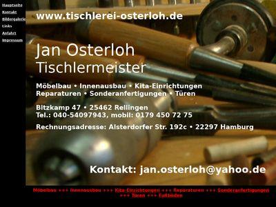 Osterloh Jan Tischlerei