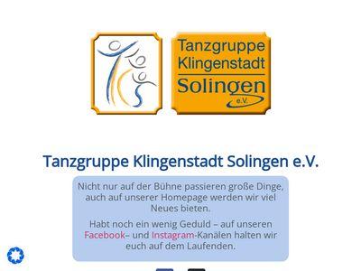 Tanzgruppe Klingenstadt Solingen EV