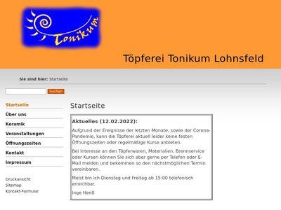 Töpferei Tonikum